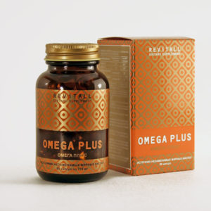 БАД Revitall OMEGA PLUS, 90 капсул